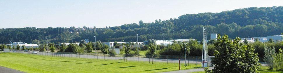 Ansicht Industriegebiet in Biberach