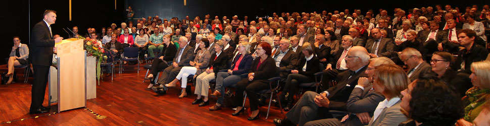 OB Zeidler und Gäste Bürgertag
