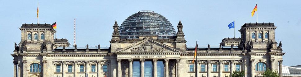 Bundestag Außenansicht, Foto: Deutscher Bundestag / Katrin Neuhauser